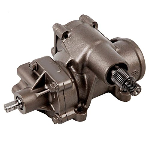 Detroit Axle - Complete Power Steering Gear Box Assembly [33-Spline Selector Shaft] - for 33 Splines & 3 Blanks on Sector Shaft - CHECK YOURS BEFORE ORDERING