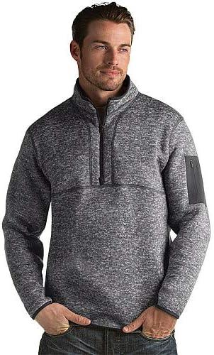 Antigua Mens Fortune 1//2-ZIP Fleece Pullover