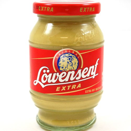 Lowensenf Extra Hot 250 ml (6-pack)