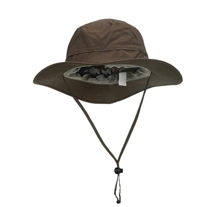 e2c85f64137a4 Senderismo Sombrero para El Sol Pesca Protección El Cucharón para Sol  Sombrero Especial Estilo Sombrero para