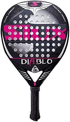Siux Diablo Mujer Woman Fucsia raqueta padel Paddle: Amazon ...