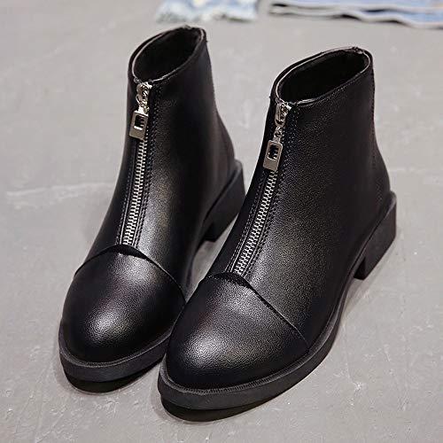 03ac63b640 Bajos Caliente Paolian Zapatos Tacón Botines Botas Vestir Militares 2018  Para Mujer Chelsea Calzado Señora Talla Moda Grande Nieve Cuña De Invierno  ...