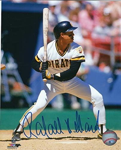 Autographed Rafael Belliard 8X10 Pittsburgh Pirates Photo