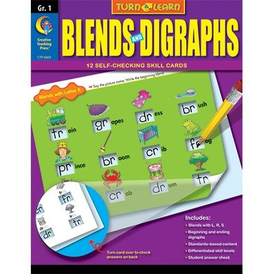Instant Learning Centers: Consonant Blends & Diagraphs, Gr. K-2 (Learning Centers Book)