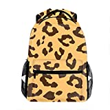 Best OXA Laptop Backpacks - Leopard Cheetah Tiger Pattern Casual Backpack, Fashion Cute Review