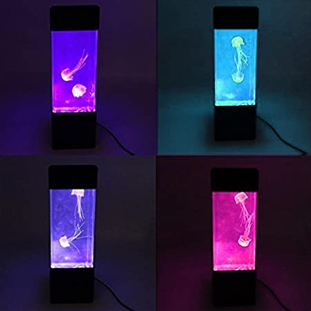 Umiwe Electric Jellyfish Aquarium Lamp Diy Led Colourful Changing