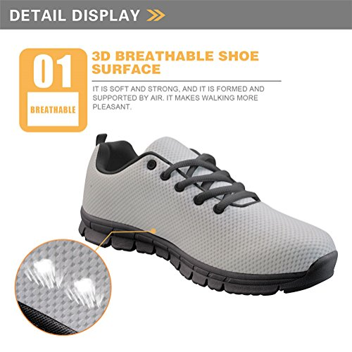 Athletic D9scc80010baq Road Sports Mesh Running Walking Shoes doginthehole Breathable up Woman Lace Sneakers Tennis FwBUI