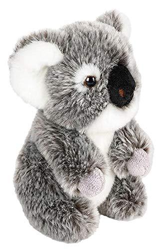 Wildlife Tree 7 Inch Stuffed Koala Plush Sitting Animal Kingdom Collection