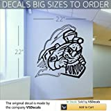 NCAA Wall Mural Vinyl Sticker Sports Logos Purdue Boilermakers (S734) FRST