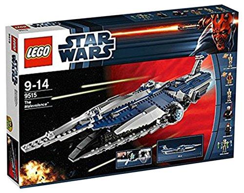 LEGO Star Wars General Grievous Malevolence Space Ship w/ Minifigures   9515