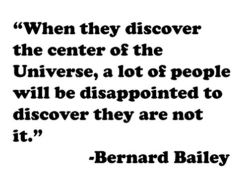 Print    When They Discover The Center Of The Universe        Bernard Bailey
