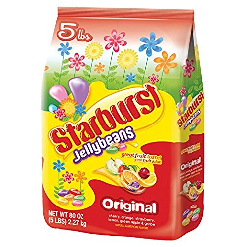 Starburst Jelly Beans - 5 pounds (Beans Starburst Jelly)