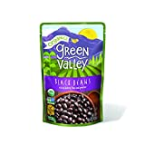 Green Valley Organics Black Beans Pouch, 15.5 Ounce (Pack of 12)