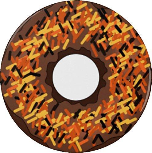 Chocolate Orange & Yellow Sprinkle Donut 2.25