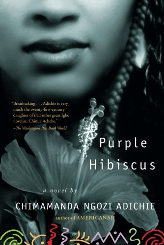 Book cover for Purple Hibiscus