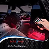 Car Interior Lights7 Colors and Multiple Patterns for Front Back Underdash Decoration Lighting