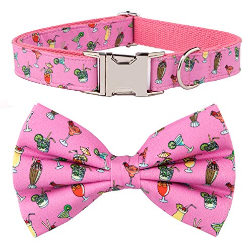 csspet Cocktail Dog and Cat Collar Bow