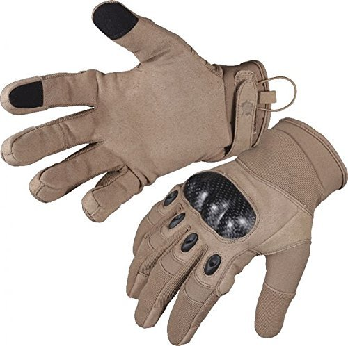 5ive Star Gear Tactical Hard Knuckle Gloves, Coyote, Medium ()