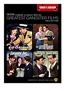 TCM: Greatest Gangster Films Collection (Kid Galahad / The Little Giant / Larcency Inc. / Bullets or Ballots)