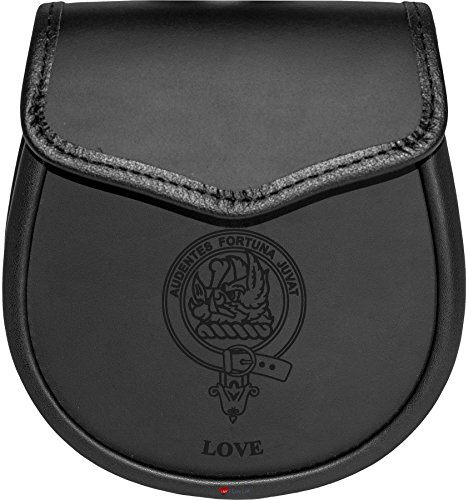 Love Leather Day Sporran Scottish Clan Crest by iLuv (Image #5)