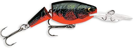 Brown Crawdad Rapala Jointed Shad Rap 04 Fishing Lure