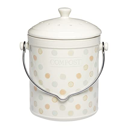 Amazon.com: Kitchen Craft Classic Collection – Compostador ...