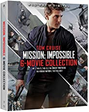 Mission: Impossible - 6 Movie Collection [Blu-ray + Digital]