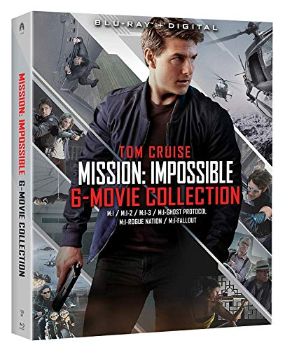 Mission: Impossible - 6 Movie Collection [Blu-ray] (Mission Impossible Movie Set)