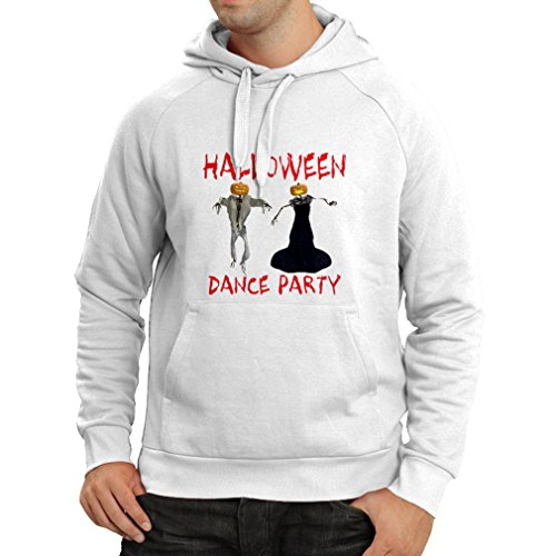 Costumes Ideas Beginning With M (Hoodie Cool Outfits Halloween dance party events costume ideas (Medium White Multi Color))