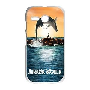 Motorola Moto G Jurassic World pattern design Phone Case HJW1196240