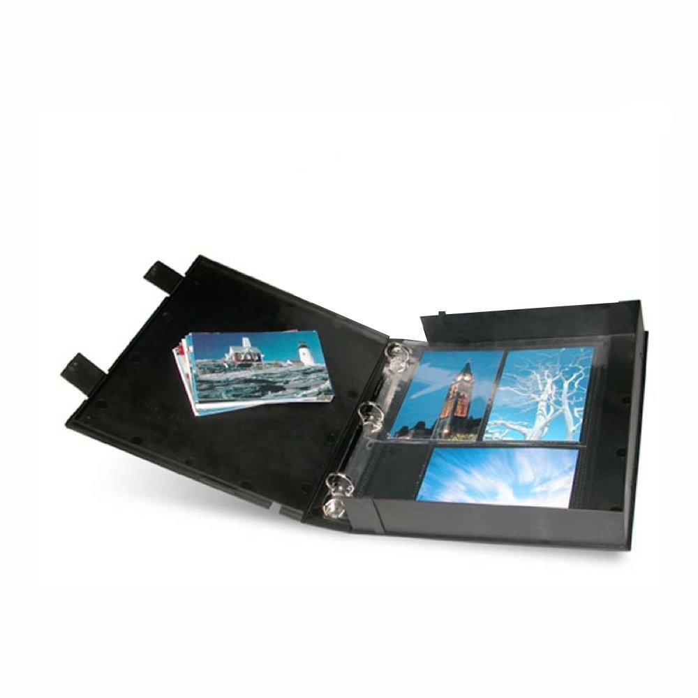 CLEAR-FILE 880000#88 Archival PLUS Safety Binder Picture Album by Clearfile