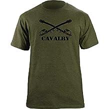 Army Cavalry Branch Insignia Crossed Sabers Veteran T-Shirt