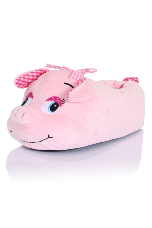 Loungeable B07F6X8L92 Boutique, Nouvelles pantouffles animakes confortables Nouvelles pantouffles pour femmes Cochon Pinky ecc0f78 - piero.space