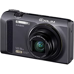 Casio Exilim EX-ZR100 12.1 MP CMOS Sensor with 12.5x Optical Zoom Digital Camera Black