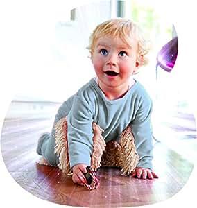 Babymop – Mopa para bebé para facilitar la limpieza del hogar. Body Pijama con mopa para bebé