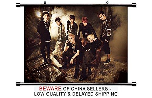 Block B Kpop Singer Wall Scroll Poster