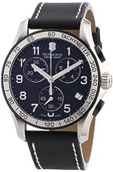 Victorinox Swiss Army Men's 241404 Chrono Classic Black Dial Watch
