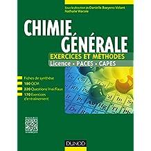 Chimie générale : Exercices et méthodes (Tout le cours en fiches) (French Edition)