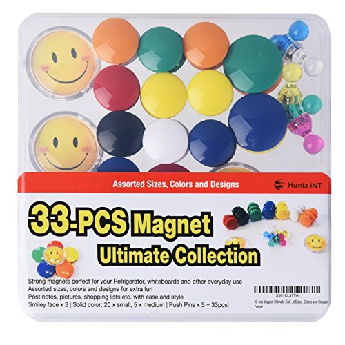 33-pcs Magnet Ultimate Collection - Assorted Sizes, Colors and Designs