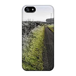 Hot Wonderful Green Hue On A Country Raod First Grade PC For SamSung Note 2 Phone Case Cover
