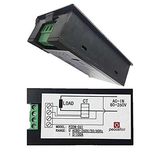 Feamos 80 260V Digital Ammeter Voltmeter product image