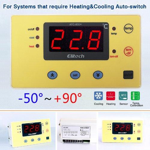 excelvan digital temperature controller thermostat atc 800 220v rh amazon co uk HVAC Wiring Diagrams Simple Wiring Diagrams