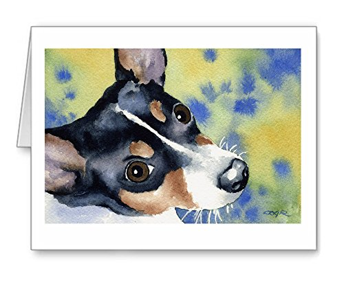 Rat Terrier - Set of 10 Note Cards With Envelopes