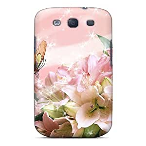 MMZ DIY PHONE CASENew Arrival Premium S3 Case Cover For Galaxy (gorgeous Gladiola)