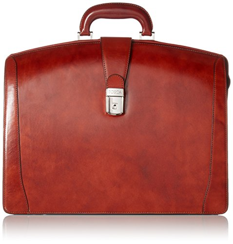 Briefs Leather Bosca - Bosca Old Leather Collection - Partners Brief Briefcase Cognac Leather