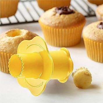 Lucena Cupcake Corer Muffin Cake Pastry Corer PlungerCake Digging Holes Cupcake Filling Tool Lilac 1040PD-3121