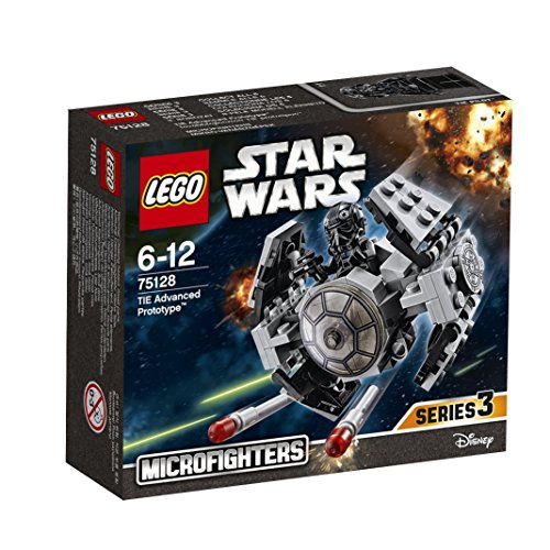 LEGO Star Wars Microfighters With a Star wars Jelly belly Gift box (75128 - Tie Advanced Prototype)