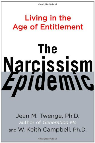 Narcissism Epidemic Living Age Entitlement product image