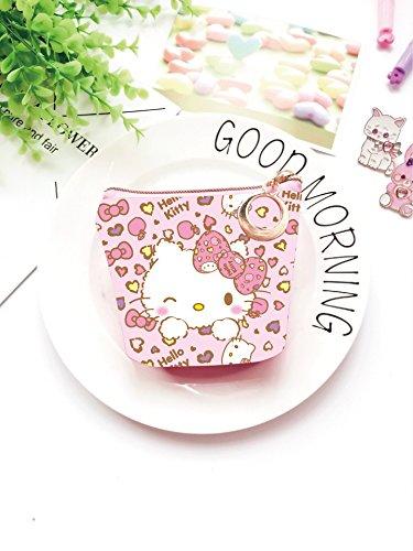 CJB Coin Pocket Hello Kitty Pink Leopard (US Seller)