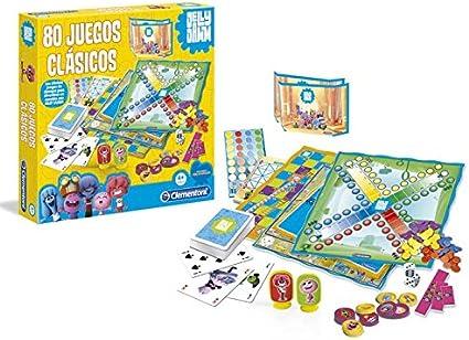 Jelly Jamm - 80 Juegos clásicos (Clementoni 65049): Amazon.es: Juguetes y juegos